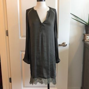 NWT H&M Dark Green Tunic m/Dress - US 10